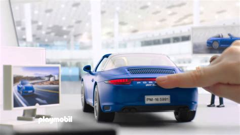 playmobil porsche playmobil porsche 911 targa 4s deutsch youtube