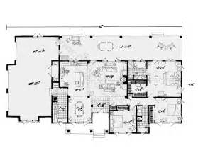 single story house plan one story house plans with open floor plans design basics