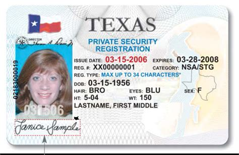 new id cards for tx private security industry 171 around