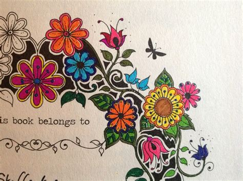 secret garden colouring book ideas creative wednesday secret garden lacer s