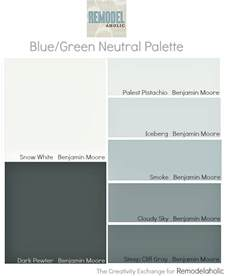 Remodelaholic An Easy Paint Color Strategy For The Whole Wall Paint Colors Ideas
