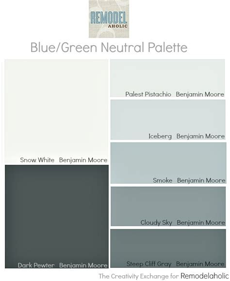 paint color palette remodelaholic an easy paint color strategy for the whole