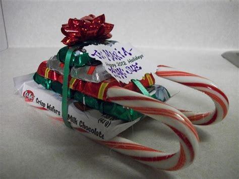 candy cane sled gift idea krafty cards etc christmas
