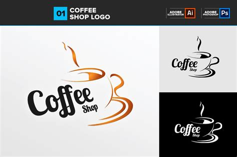design logo for coffee shop the gallery for gt deals logo psd