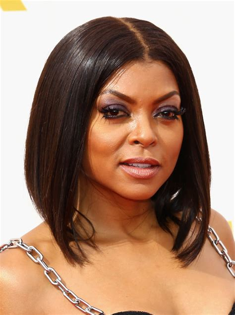 Taraji P Henson Bob Hairstyle by The Bob Is The Hairstyle At The 2015 Emmys Huffpost