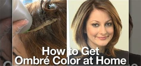 how to dye your hair in an ombre shade at home