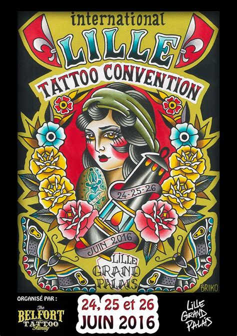 tattoo convention june 2016 lille tattoo convention 24 25 26 june 2016 mediazink