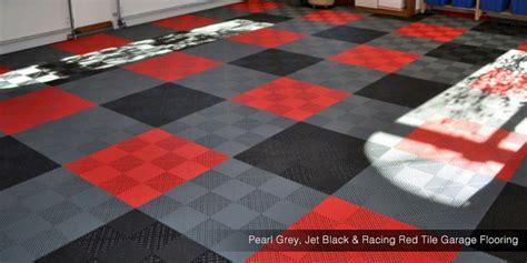 swisstrax garage flooring custom tile garage flooring