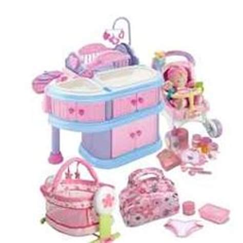 Baby Pink Newborn Babydoll Set baby doll nursery sets thenurseries