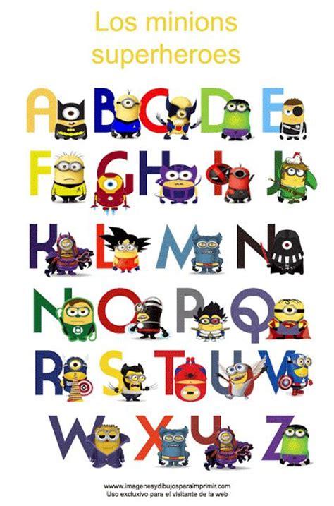 imagenes de minions rastas abecedario de los minions superheroes para imprimir