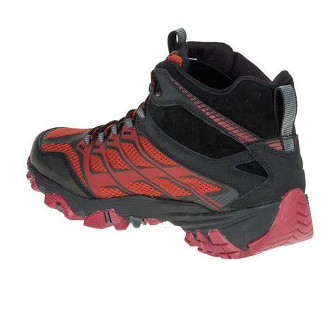 merrell walking shoes merrell moab fst mid tex walking shoes 50