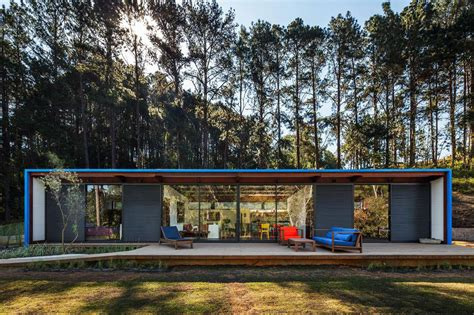 compact house compact summer house in s 227 o roque brazil
