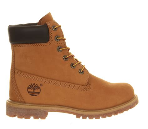 Wedges Premium timberland premium wedge boot in brown lyst