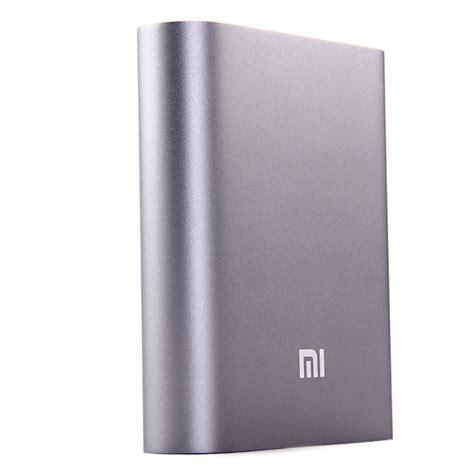 Xiaomimi Power Bank 10400mah Bulk Packing Not Xiaomi Vivan Robot xiaomi 10400mah usb power bank external battery charger black grey