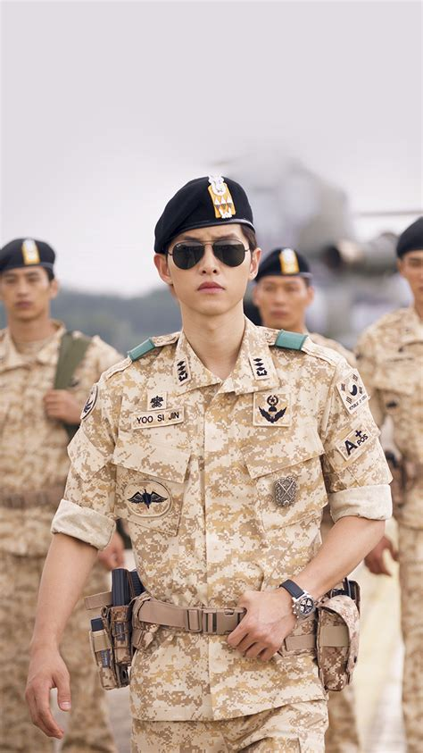 021bfc Softcase Soldier Dots Descendants Of The Sun Iphone6