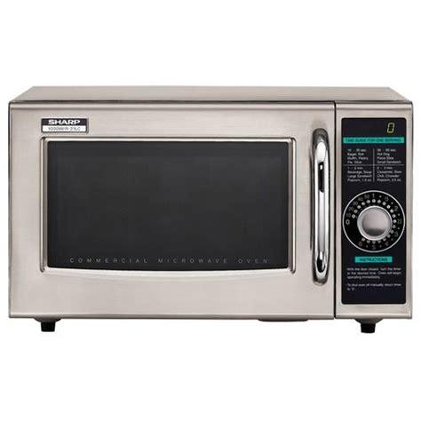 Microwave Sharp 399 Watt sharp r 21lcf 1000 watt commercial microwave oven etundra