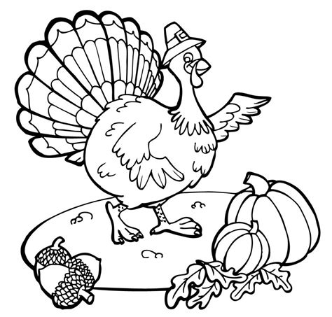 Free Coloring Pages Thanksgiving Free Printable Thanksgiving Coloring Pages For Kids