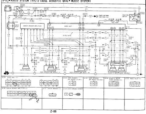 mazda rx 8 bose wiring diagram mazda free engine image