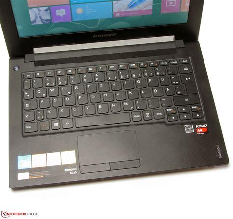 Second Laptop Lenovo Ideapad S215 kort testrapport lenovo ideapad s215 59372287 subnotebook notebookcheck nl
