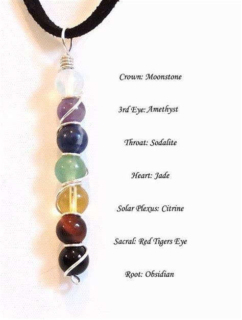 chakra gemstone best 25 chakra necklace ideas on multi