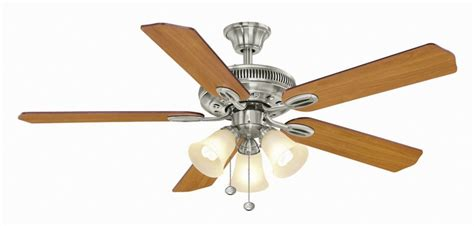 hton bay glendale 52 in brushed nickel ceiling fan hunter antero 46 inch brushed nickel indoor ceiling fan