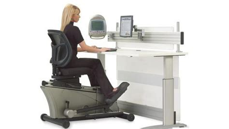 Exercise Equipment For Work Desk by The Elliptical Machine Office Desk Out Work Workout