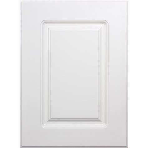 kitchen cabinet door panels shop surfaces bennett 11 in x 15 in white engineered wood