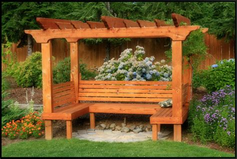 arbor with bench seat grape trellis with bench navarra gardens a gorgeous