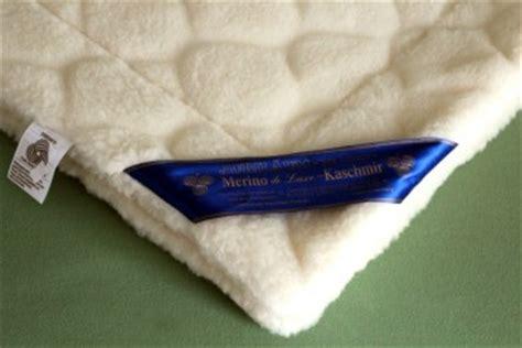 Kaschmir Bettdecke by Merino Kaschmir Duvet Besonders Gem 252 Tlich Und Gesund