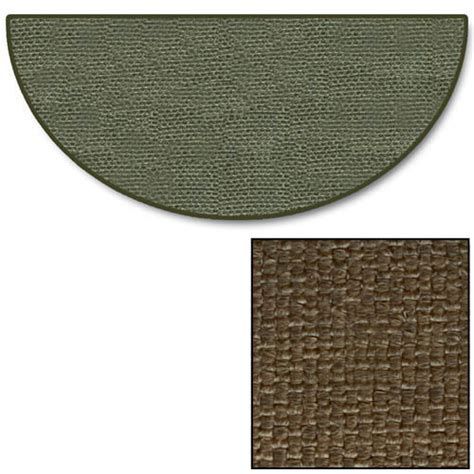Goods Of The Woods Hearth Rugs by Goods Of The Woods Brown Half Guardian Hearth Rug
