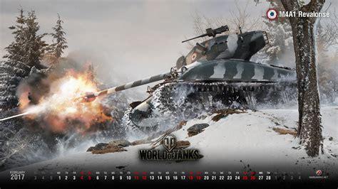 Plánovací Kalendář Na Rok 2018 Wallpaper For February 2017 General News World Of Tanks