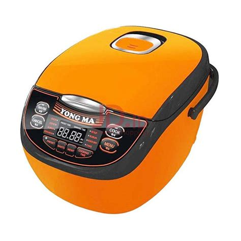 Rice Cooker Yongma jual yong ma digital rice cooker 2 l ymc116c orange jd id
