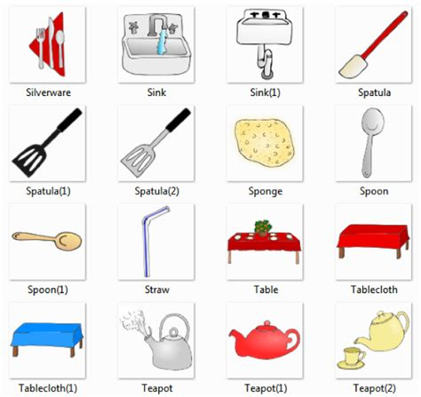 kitchen utensils names 6 2520 2520kitchen 2520pictures 2520for 2520classroom