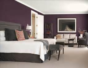 Bedroom Colour Schemes by Purple Gray 8 Gorgeous Bedroom Color Schemes