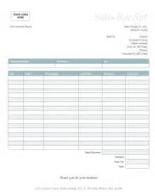 Template For Sales Receipt 10 Sales Receipt Template Budget Template Letter