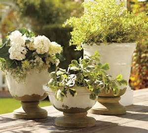 tuscan planters mediterranean outdoor pots and