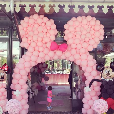 Minnie Mouse Birthday Decoration Ideas by Kara S Ideas Minnie Mouse Themed Birthday