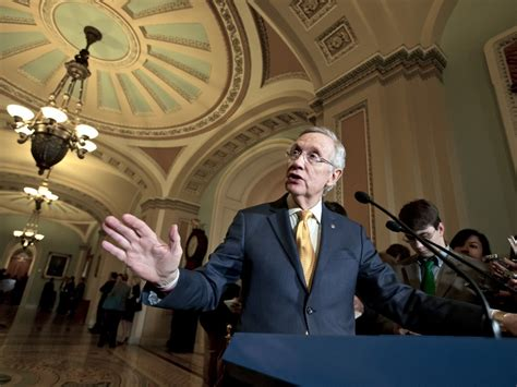 Discussion Senate Floor Today - democrats facing tough races will support harry as
