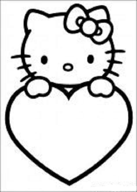 kitty coloring pages 8 coloring kids