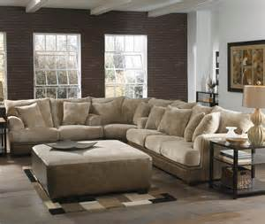 Large L Shaped Sectional Sofas Barkley Large L Shaped Sectional Sofa With Left Side Loveseat By Jackson Furniture Wolf Furniture