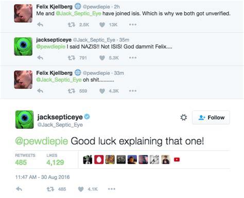 pewdiepie phone number are freaking out youtuber pewdiepie s tweet