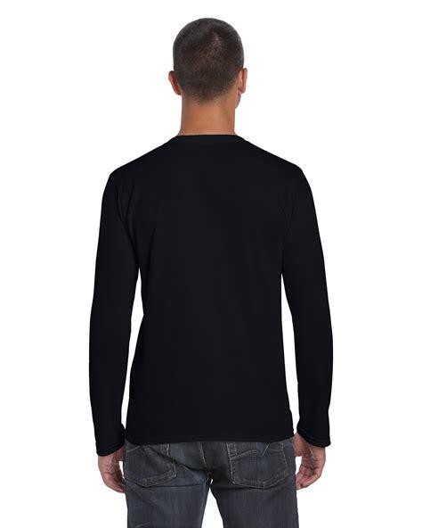 Kaos Lengan Panjang Longsleeve Wanita Terbaik jual kaos lengan panjang polos hitam gildan sleeve 76400 black kaos singit