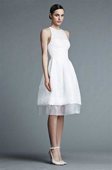 Informal White Wedding Dresses by Casual Wedding Dresses For The Minimalist Modwedding