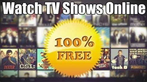 tv shows find your favorites online 25 websites to stream favorite tv shows online for free