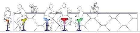 divanetti bar dwg persone sedute dwg