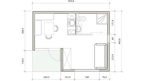 studio plan studio de jardin rak 20 greenkub