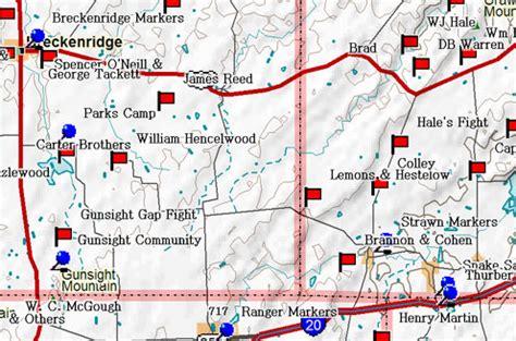 strawn texas map fort tours possum kingdom to metcalf gap