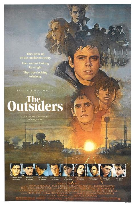 themes of the outsiders book the outsiders movie poster yahoo search results yahoo