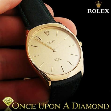 Rolex Cellini Leather List Silver s rolex cellini 18k yellow gold 31mm green leather bracelet ebay watches