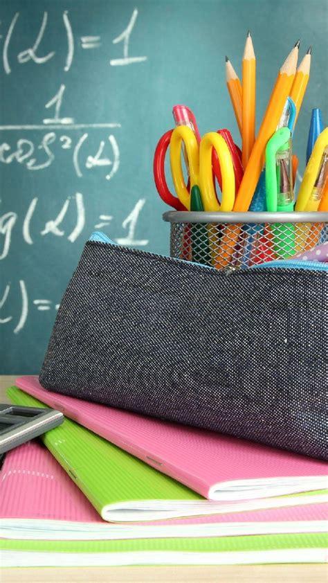 school school supplies wallpaper  iphone        wallpapers